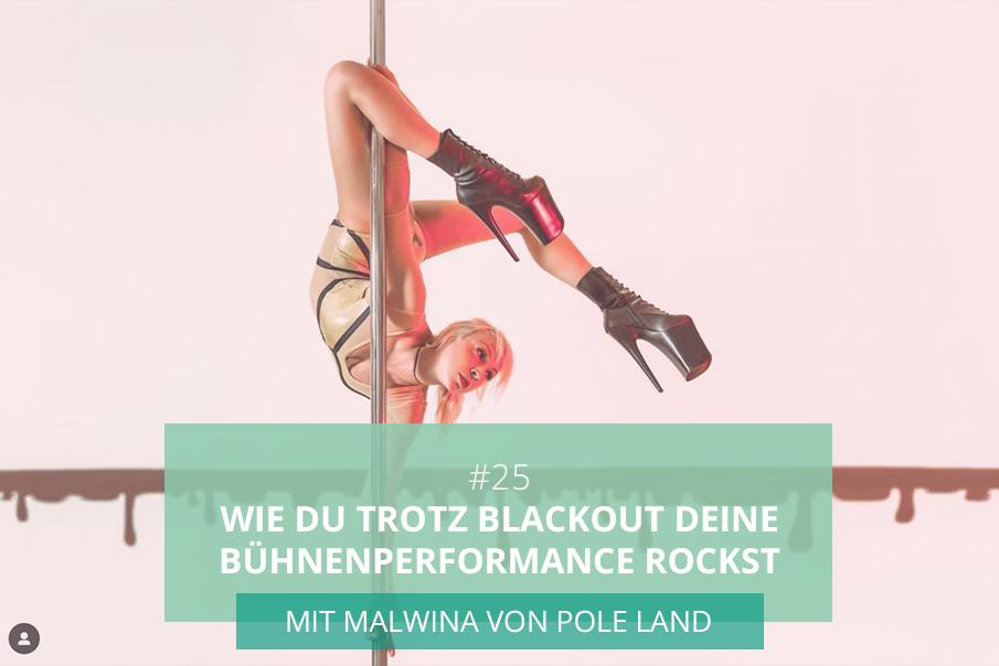 Pole Dance Podcast Interview mit Malwina von Pole Land