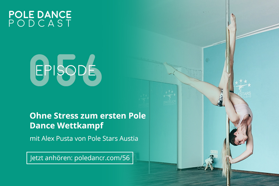 Erster Pole Dance Wettkampf Vorbereitung