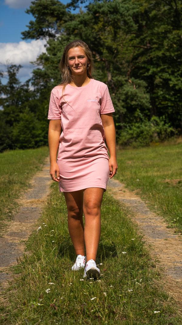 POLE DANCR Streetwear Dress rosa